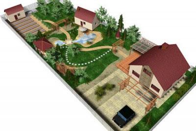 Программа для проектов участков