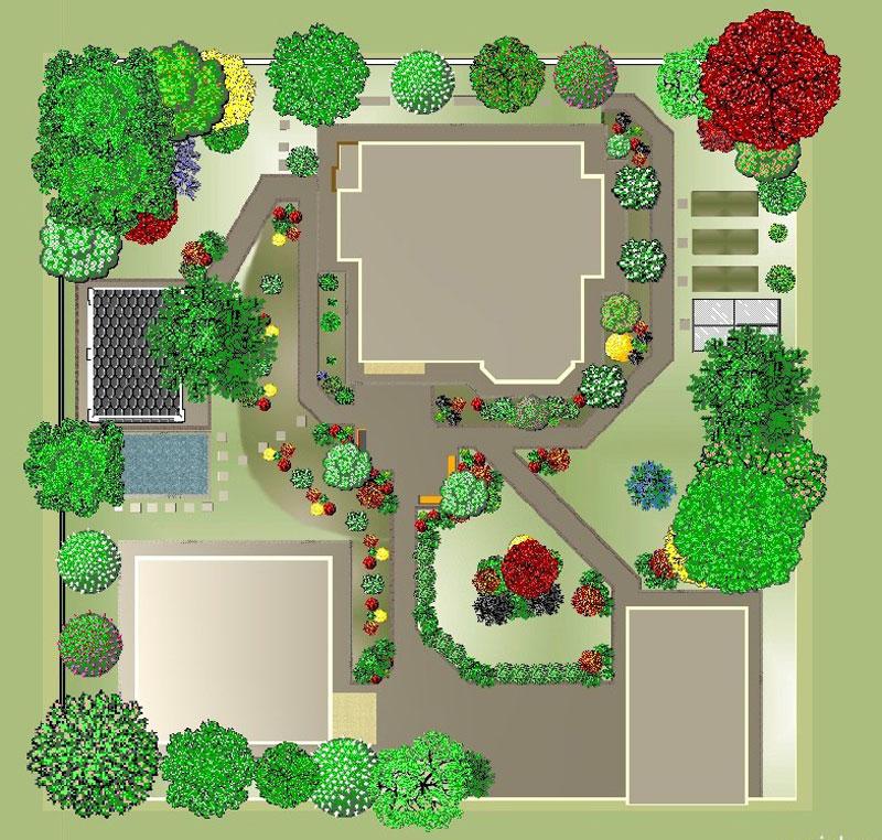 Проект ландшафтный дизайн своими руками
